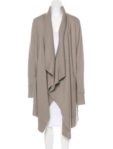 Donna Karan Long Cashmere Coat w/ Tags None