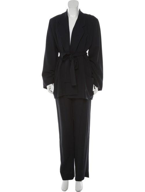 Donna Karan Vintage Wool Pantsuit Wool