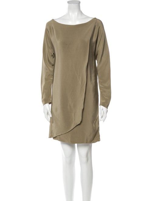 Donna Karan Silk Mini Dress
