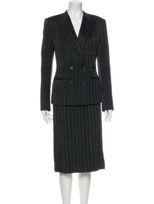 Donna Karan Wool Skirt Suit Wool