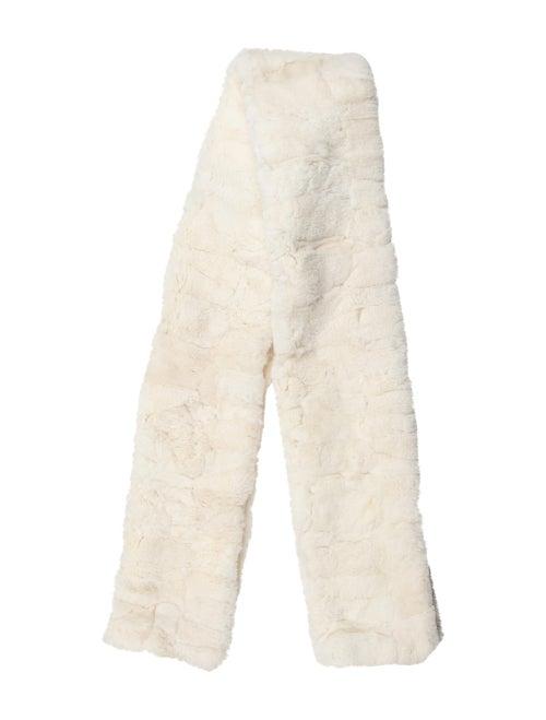 Donna Karan Rabbit Fur Stole