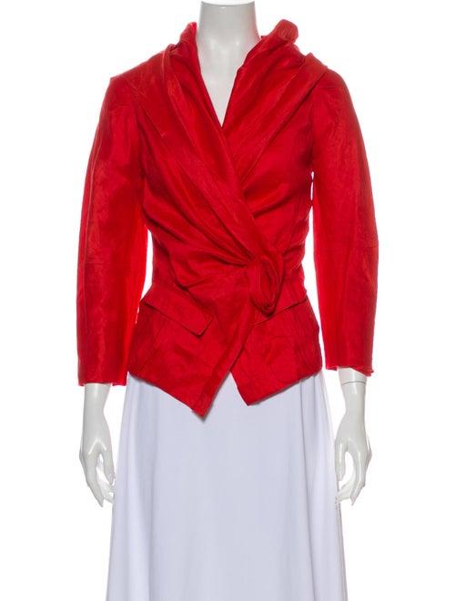 Donna Karan Blazer Red