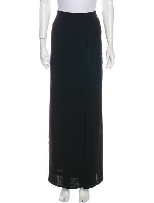 Donna Karan Long Skirt Black