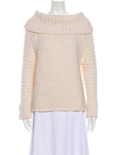 Donna Karan Mock Neck Sweater