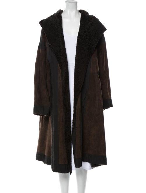Donna Karan Coat Brown
