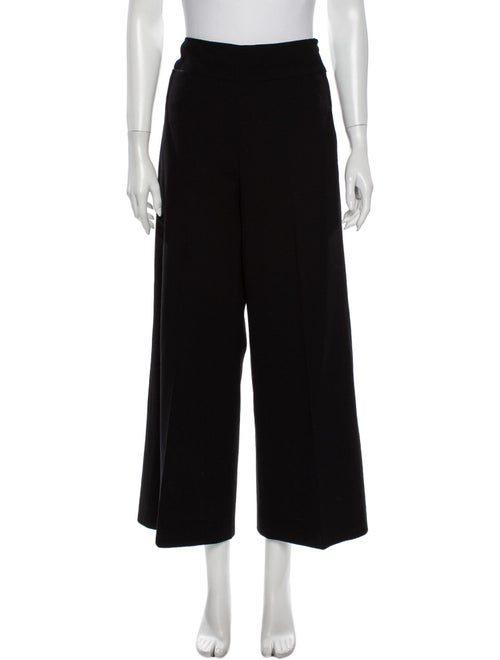 Donna Karan Wide Leg Pants Black