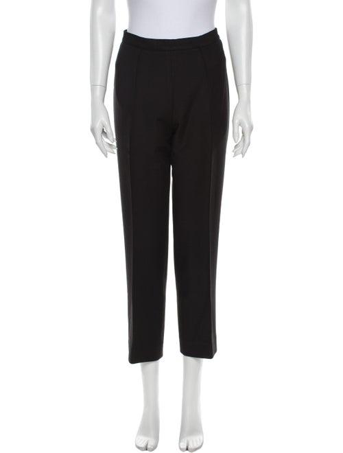 Donna Karan Straight Leg Pants Black