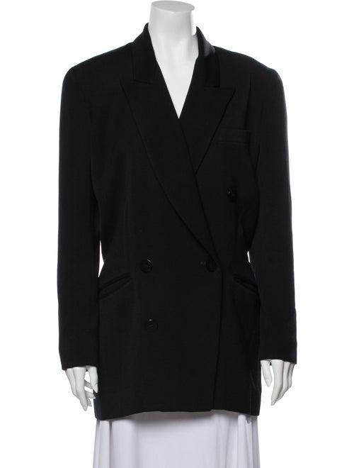 Donna Karan Wool Blazer Wool