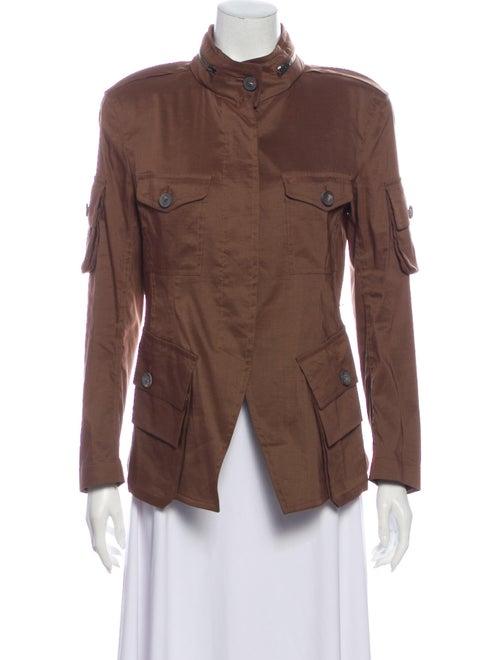 Donna Karan Utility Jacket Brown