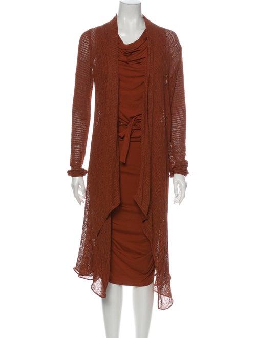 Donna Karan Dress Set Brown