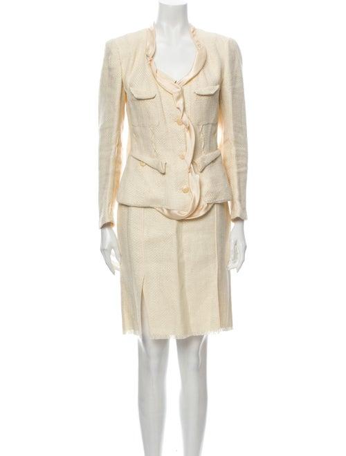 Donna Karan Linen Skirt Suit
