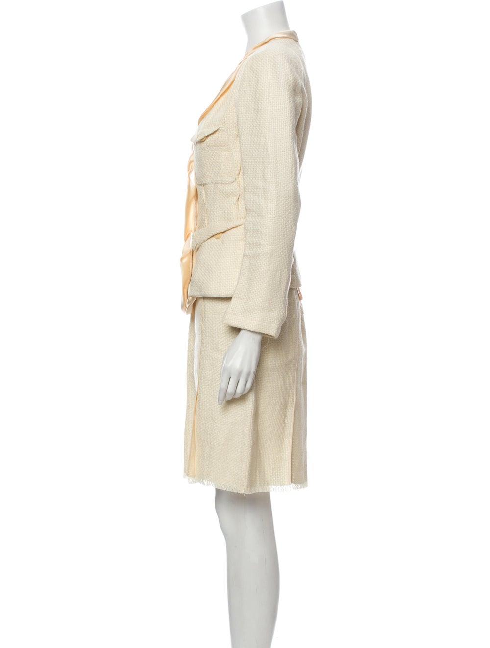 Donna Karan Linen Skirt Suit - image 2