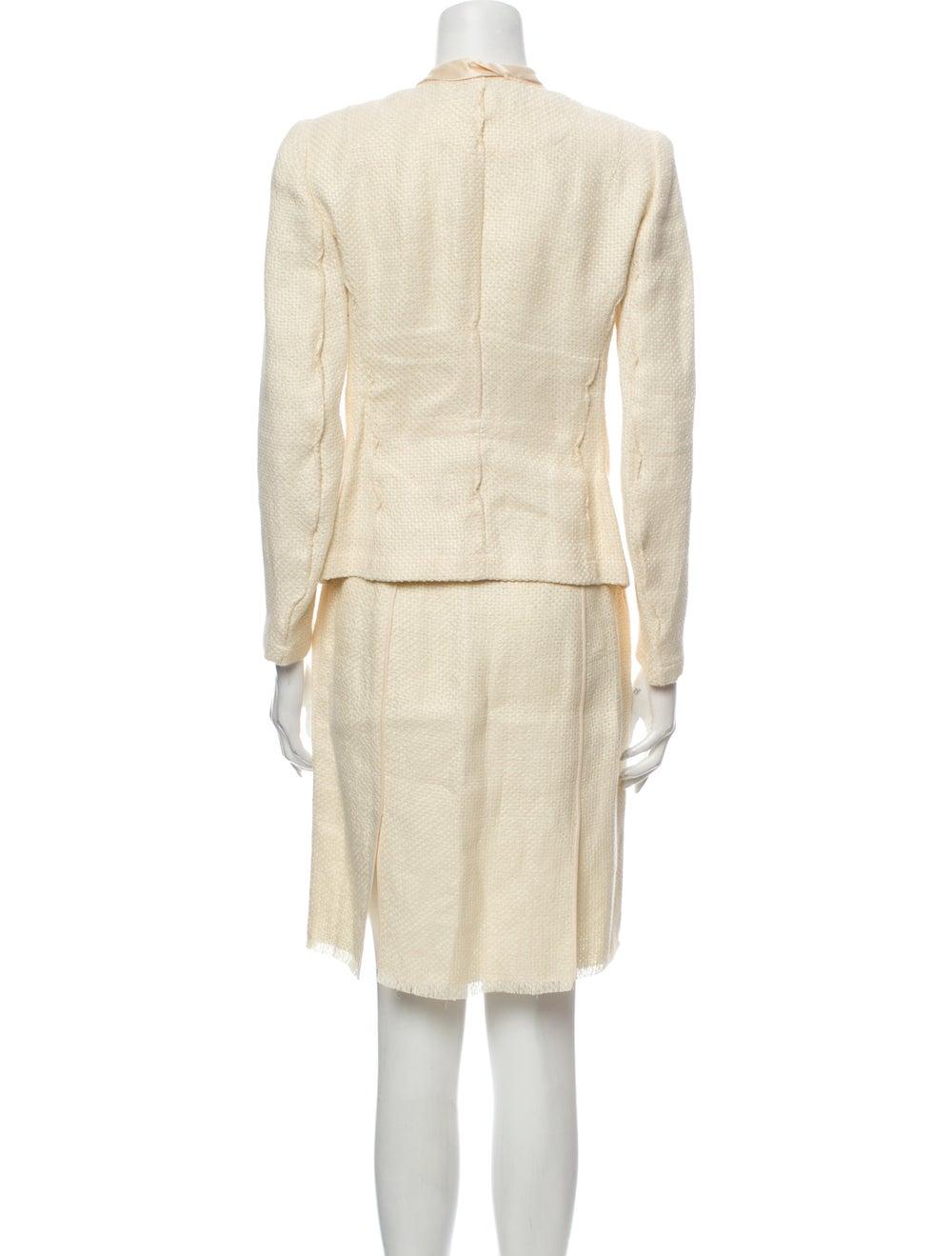 Donna Karan Linen Skirt Suit - image 3