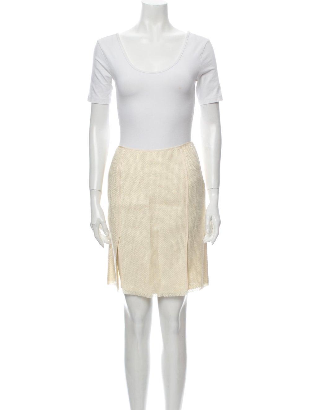 Donna Karan Linen Skirt Suit - image 4