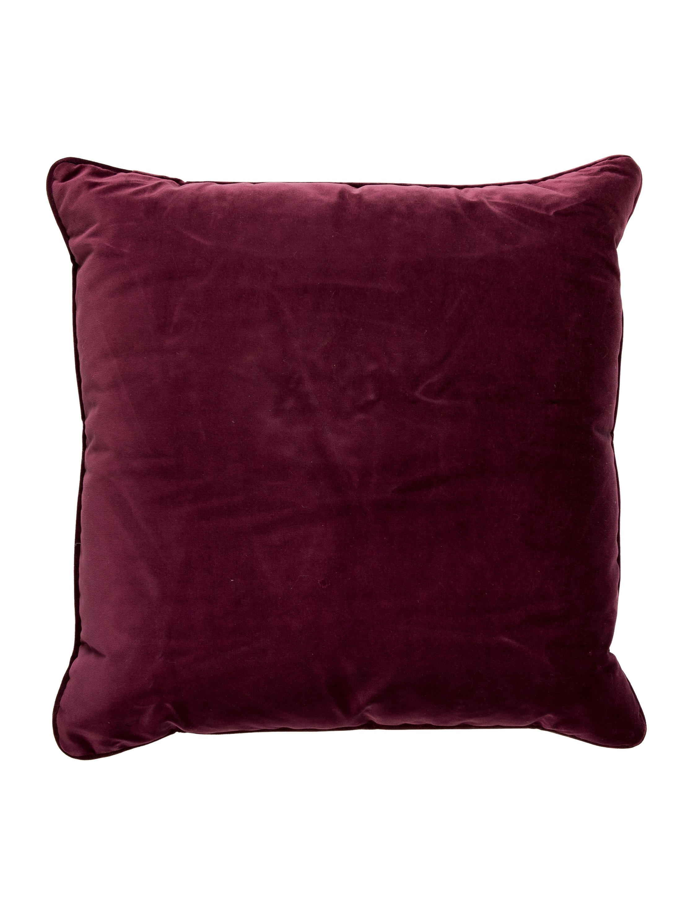 Jacquard Throw Pillows : Donghia Silk Jacquard Throw Pillow - Pillows And Throws - DONNH20007 The RealReal