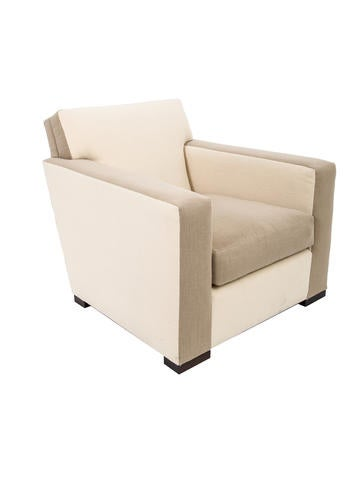 Donghia Upholstered Club Chair