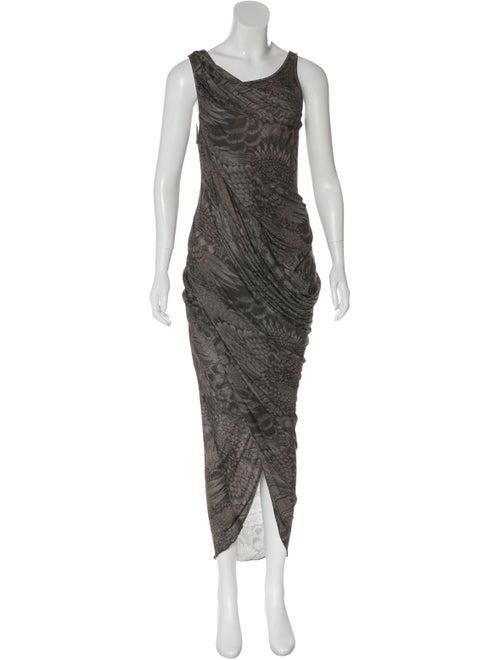 Doo.Ri Printed Maxi Dress Grey