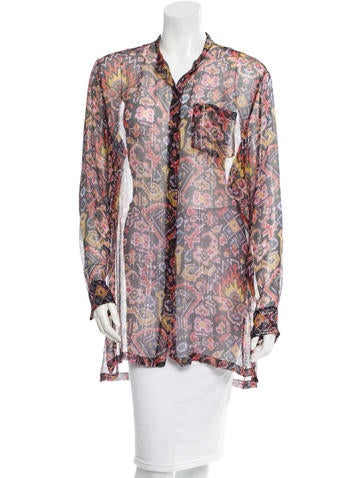 Dries Van Noten Silk Top w/ Tags None