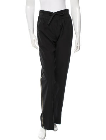 Dries Van Noten High-Rise Wide-Leg Pants