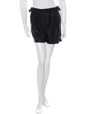 Dries Van Noten High-Waist Mini Shorts