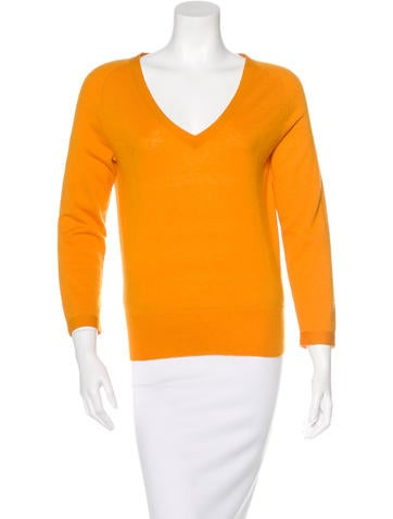 Dries Van Noten Cashmere V-Neck Sweater None
