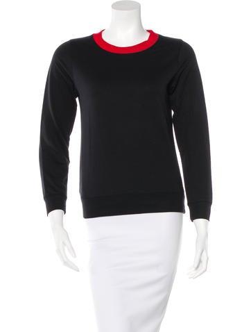 Dries Van Noten Knit Colorblock Sweatshirt None