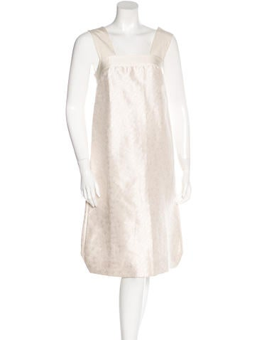 Dries Van Noten Silk & Linen-Blend Dress