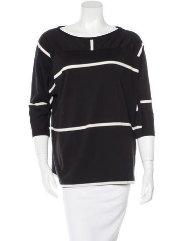 Dries Van Noten Striped Knit Top None