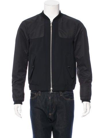 Dries Van Noten Wool-Blend Bomber Jacket None