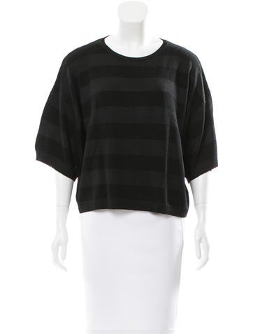 Dries Van Noten Striped Oversize Top None