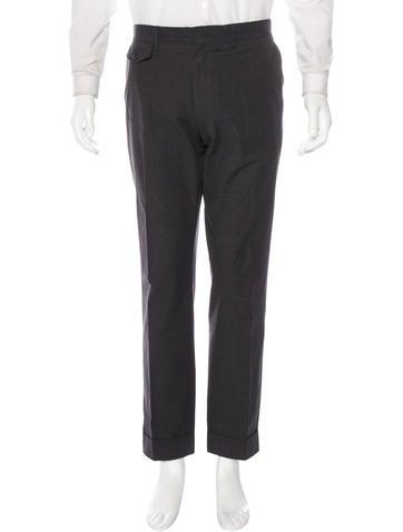 Dries Van Noten Space Dye Trousers None