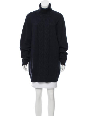Dries Van Noten Cable Knit Wool Sweater None