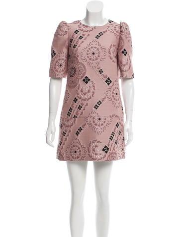 Dries Van Noten Brocade Mini Dress w/ Tags