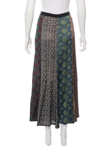 dries noten jacquard maxi skirt clothing dri35309
