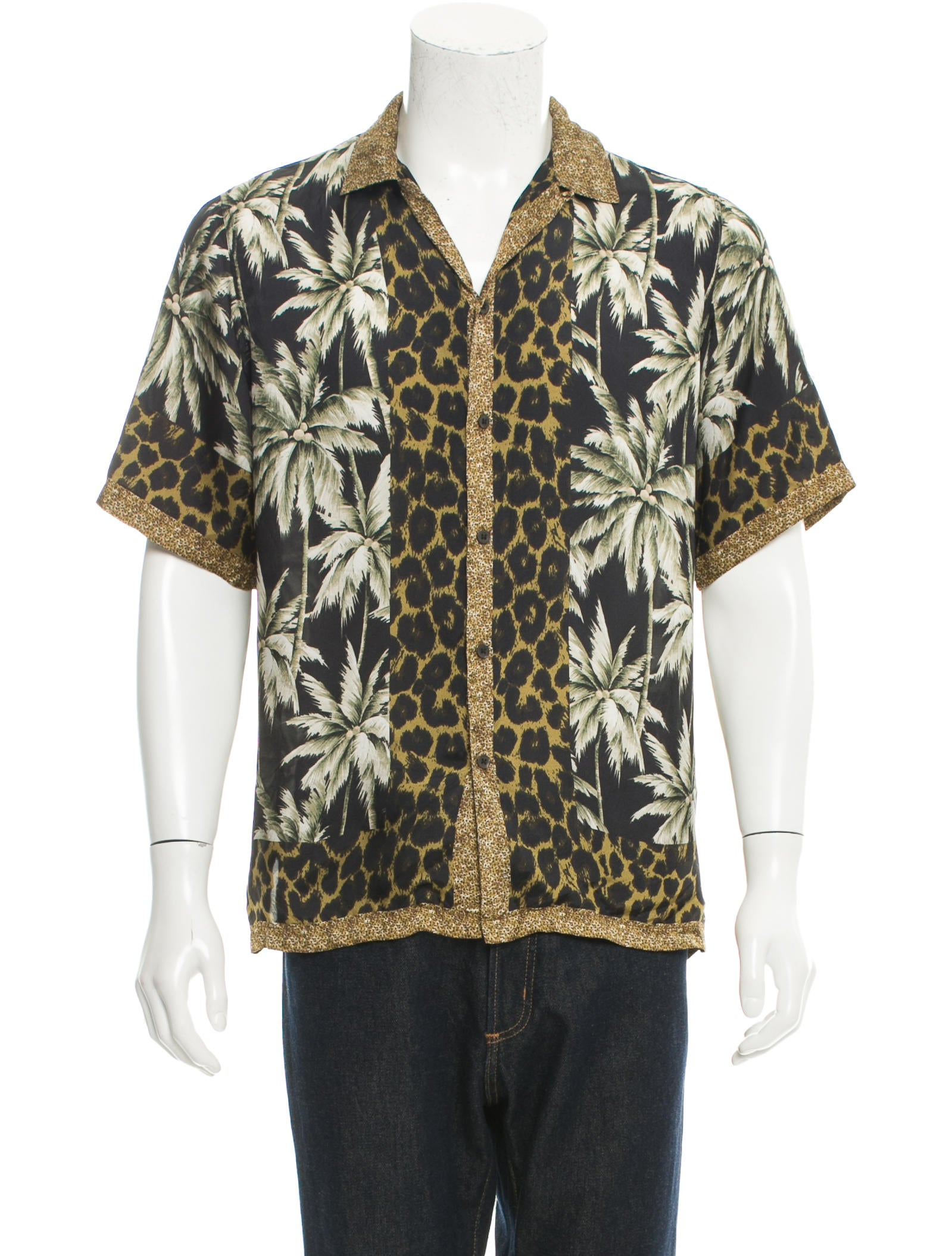 56b9efcf4b Dries Van Noten Carlton Camp Tropical Print Shirt - Clothing ...