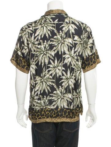 Carlton Camp Tropical Print Shirt