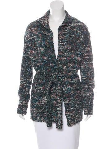 Dries Van Noten Wool-Blend Longline Cardigan None