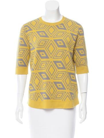Dries Van Noten Patterned Wool Sweater None