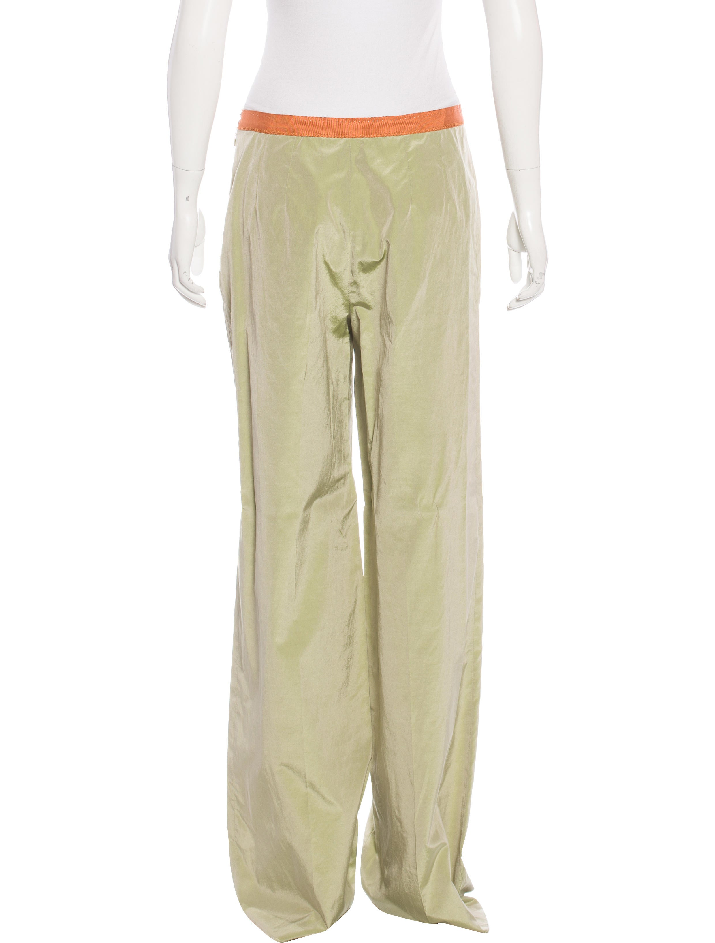 Go Silk Silk Wide-Leg Pants Details Casual silk pants by Go Silk, available in your choice of color. Approx. measurements: 11