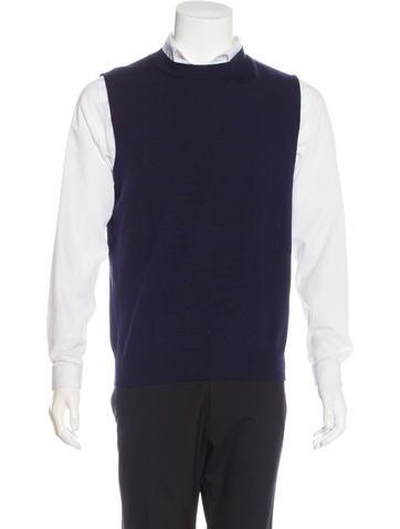 Dries Van Noten Wool Sweater Vest None
