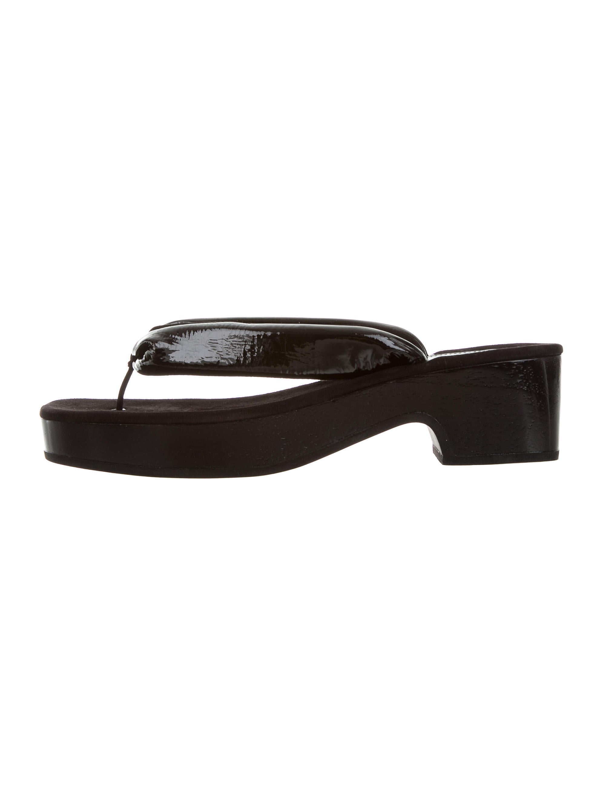 Dries Van Noten Suede Thong Sandals w/ Tags with mastercard sale online shipping discount authentic CncvTf