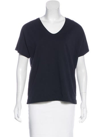 Dries Van Noten Jersey Short Sleeve Top None