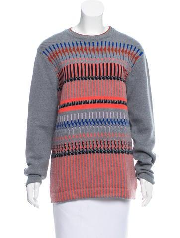 Dries Van Noten Intarsia Wool Sweater None
