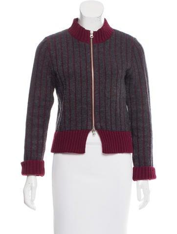 Dries Van Noten Striped Wool Sweater None