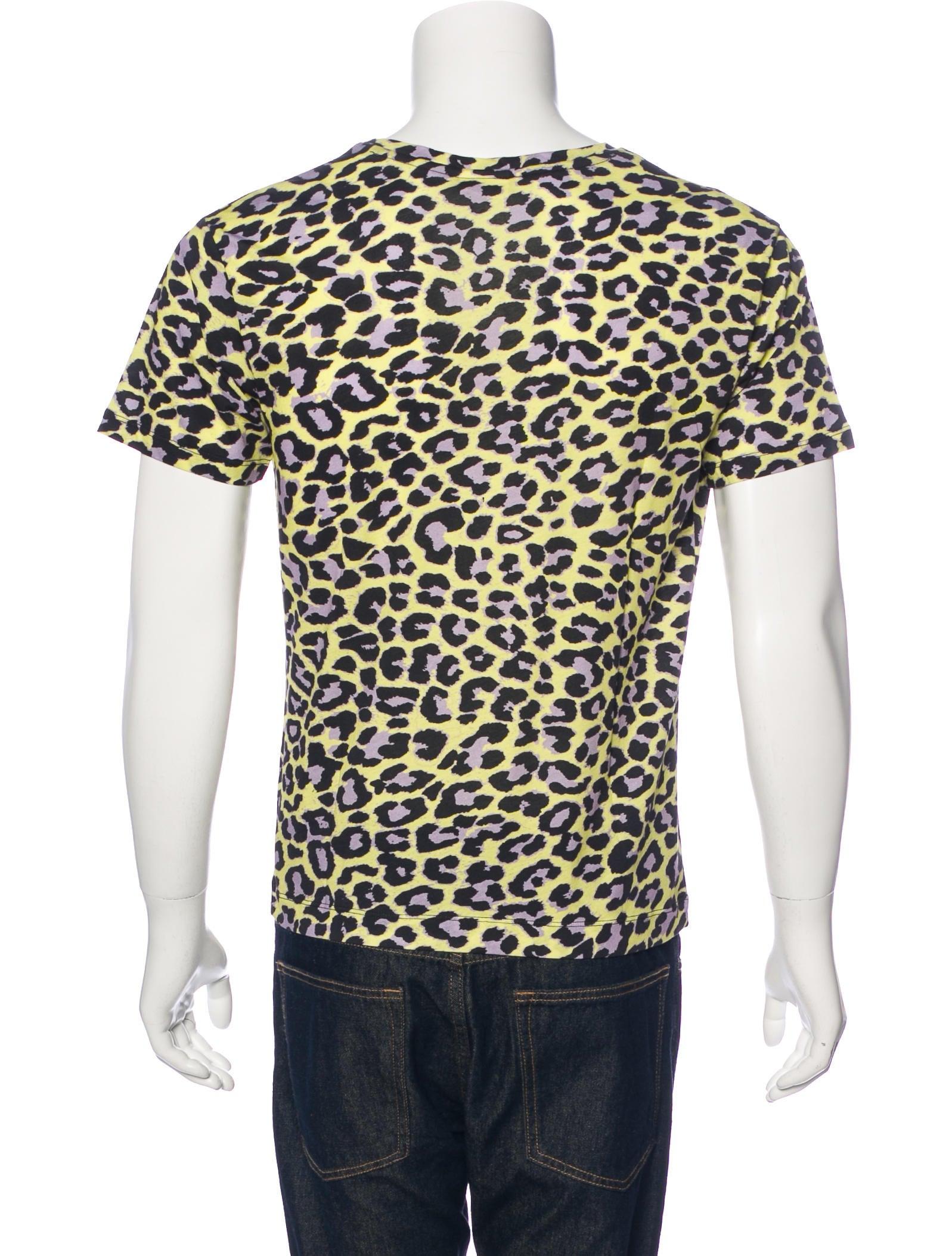 Dries Van Noten Leopard Print T-Shirt w/ Tags - Clothing - DRI38908 | The RealReal