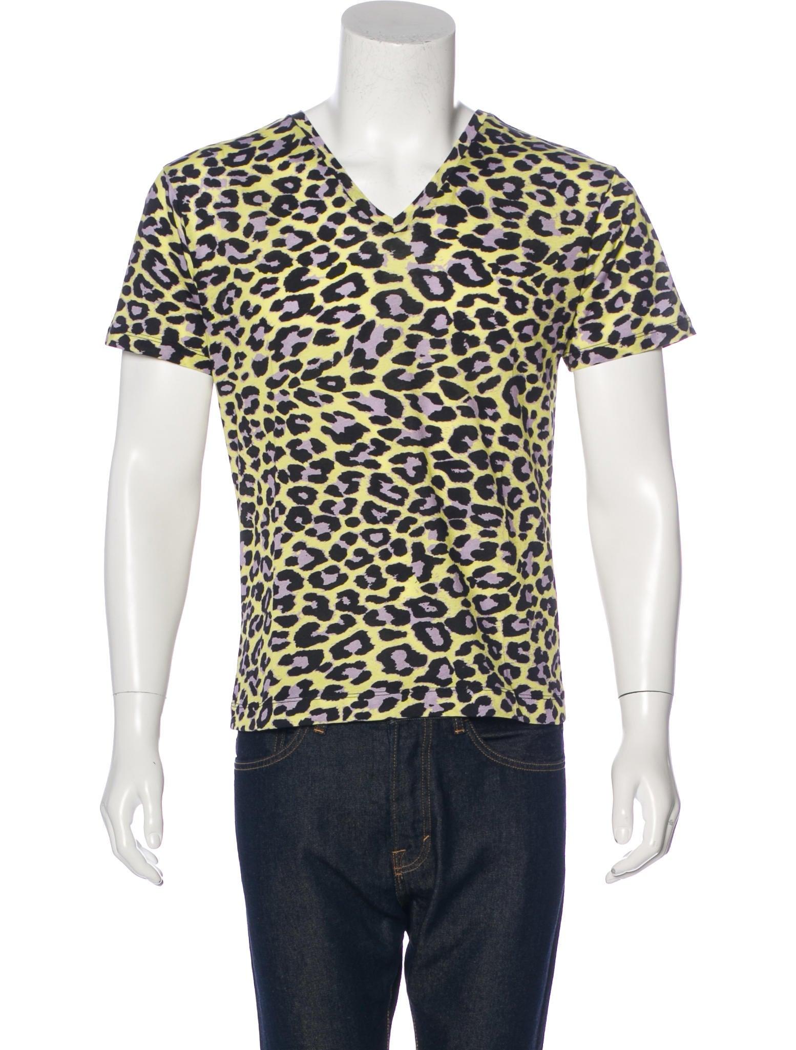 Dries Van Noten Leopard Print T-Shirt w/ Tags - Clothing - DRI38910 | The RealReal
