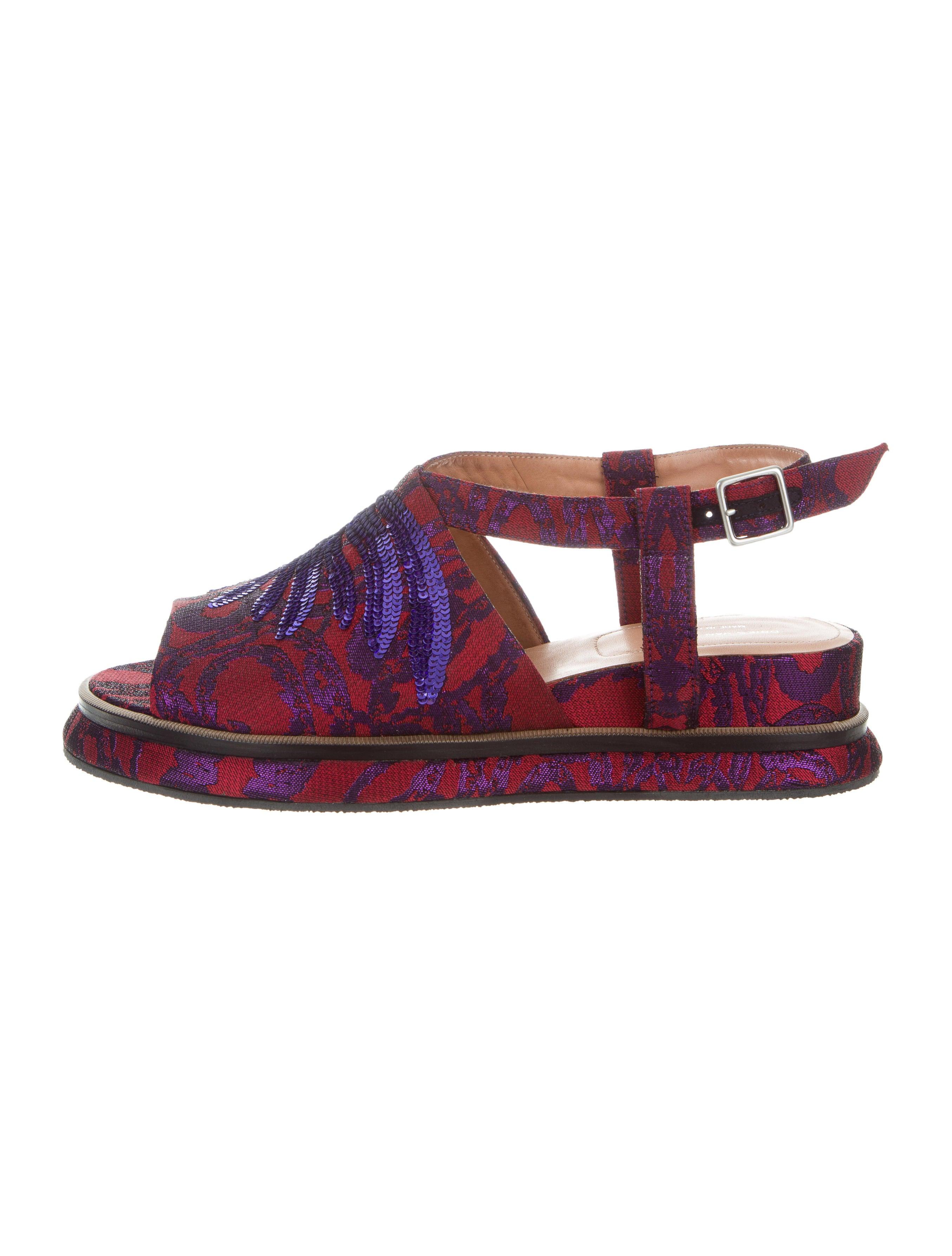 27e137cf7792c8 Women · Shoes  Dries Van Noten Brocade Sequined Sandals. Brocade Sequined  Sandals