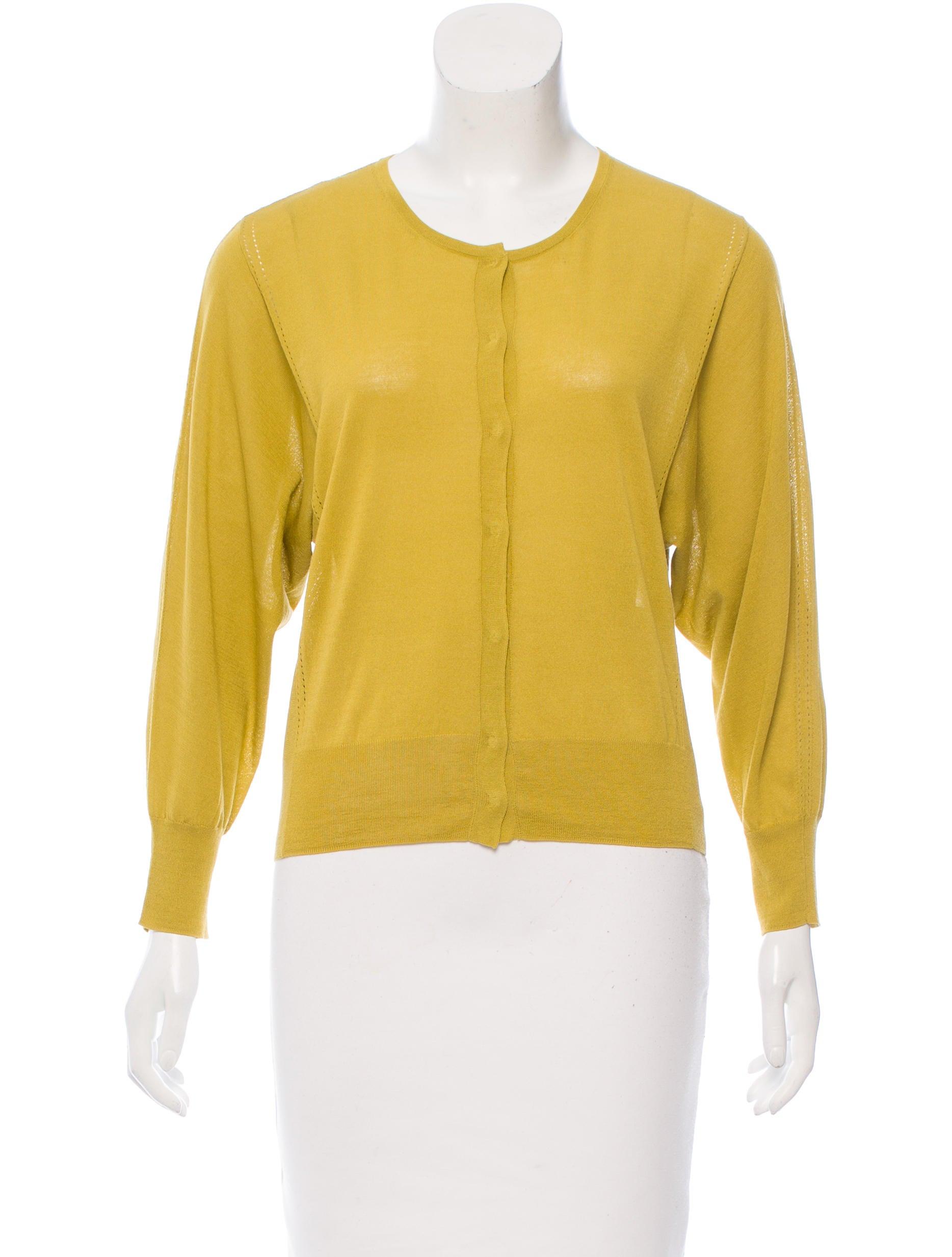 Dries Van Noten Cropped Knit Cardigan - Clothing - DRI39471   The ...
