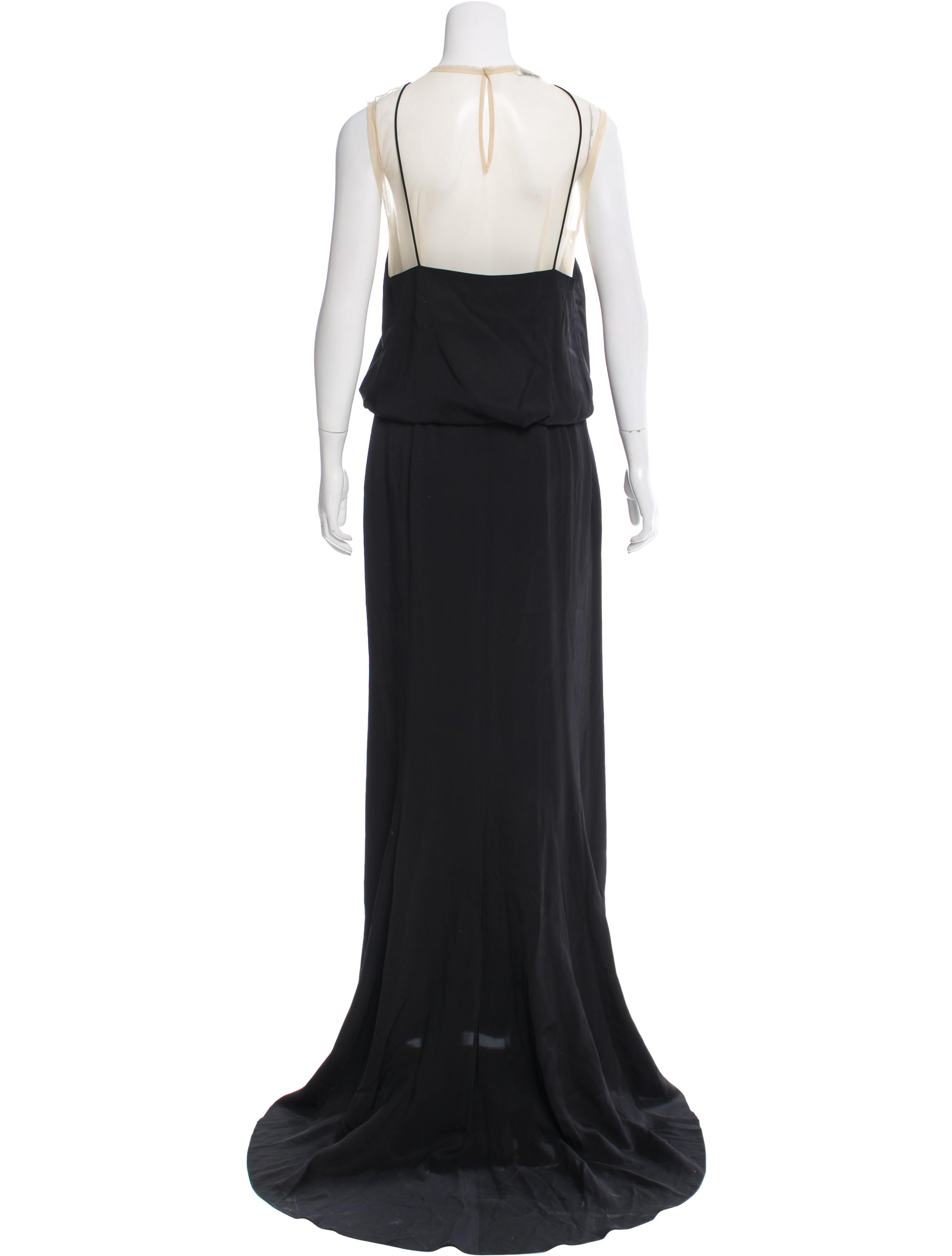 dries van noten darwin maxi dress clothing dri39473 the realreal. Black Bedroom Furniture Sets. Home Design Ideas