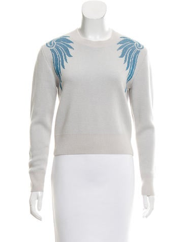 Dries Van Noten Intarsia Cashmere Sweater w/ Tags None